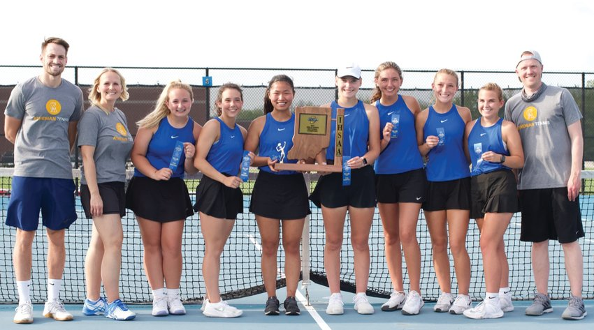 Crawfordsville won its first girls tennis sectional title since 2016.
