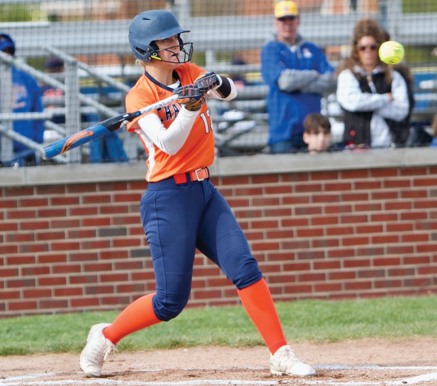 North Montgomery's Makinze Rominger has been the Chargers' top hitter all season.