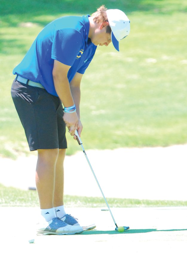 Crawfordsville's Luke Ranard fired an 81 at the sectional to advance to the regional as an individual.