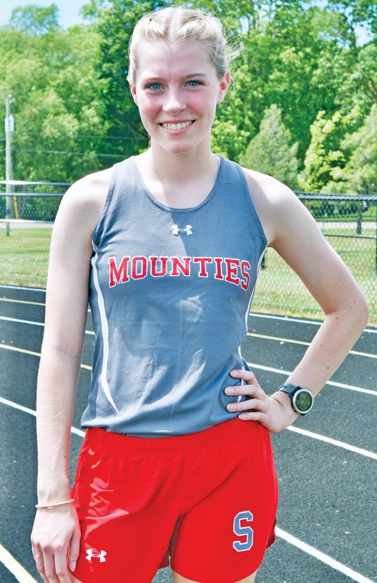 Southmont sophomore Faith Allen is the girls' track and field athlete of the year.