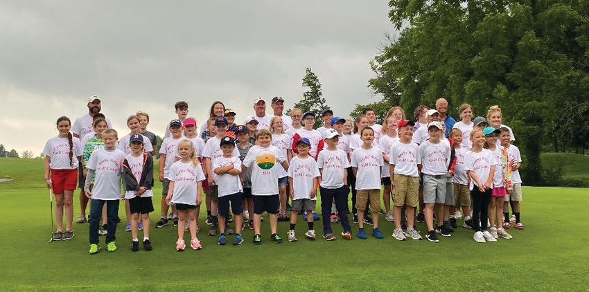Rocky Ridge Golf Club hosted a golf camp last week for local kids to learn the basic skills of golf.