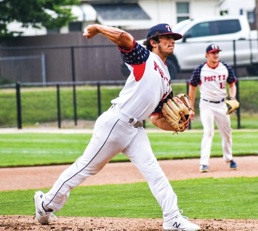 Fountain Central grad George Valencia picked up the win on Friday with a complete game effort, allowing two runs on two hits in seven innings of work, while he struck-out 13.