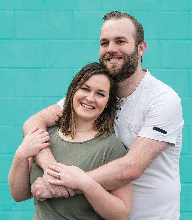 Cassie Parker and Brian VerVaet II plan to exchange wedding vows Sept. 25.