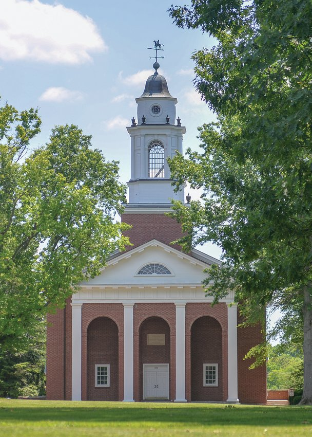 Wabash College continues to be ranked in the Top Tier of National Liberal Arts Colleges according to U.S. News & World Report in its annual Best Colleges rankings, which were released Monday. Pictured here is the Wabash Chapel.