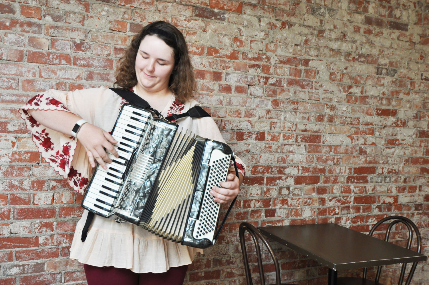Accordion player to compete at national festival outside
