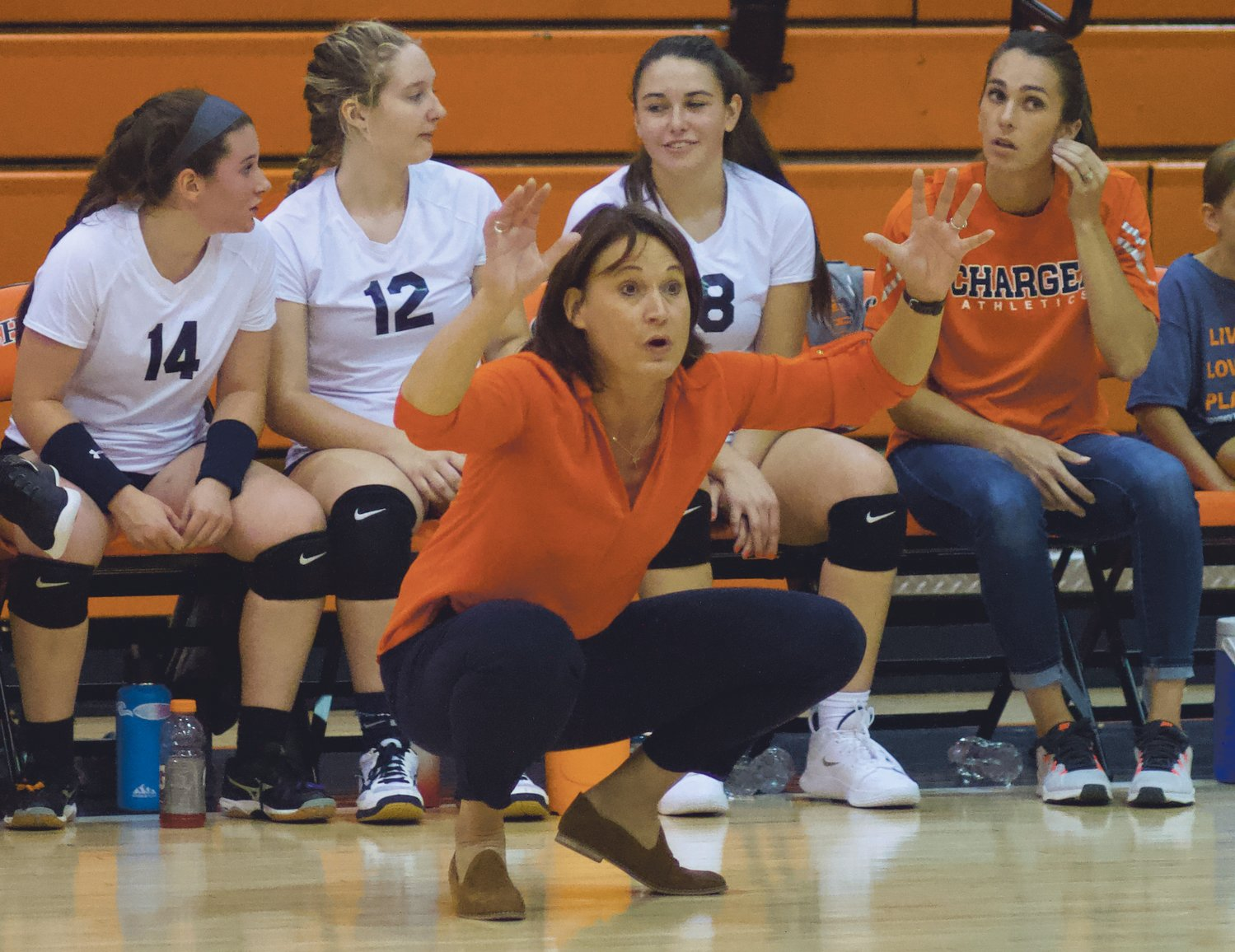 Jodi Webster posted a career record of 255-234 in 15 seasons at North Montgomery.