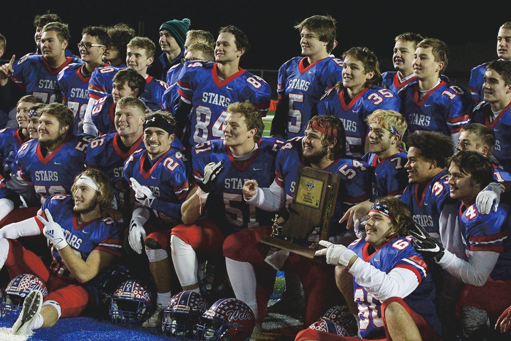 Western Boone claimed their second-straight regional title with a 35-14 win over Heritage Christian.