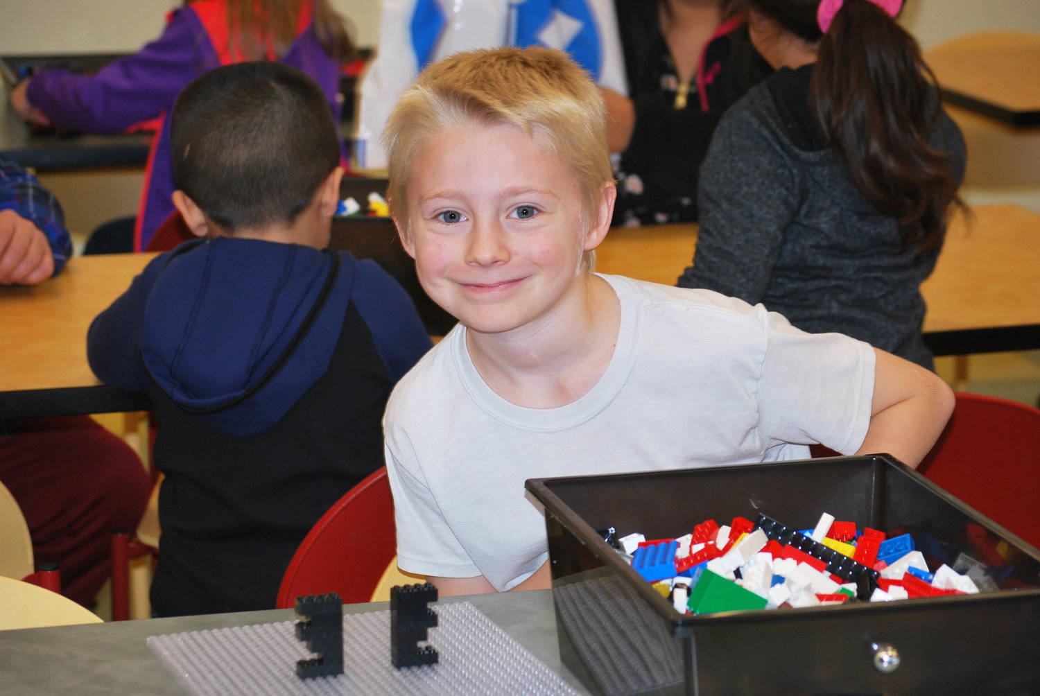 Clay Edgecombe just completed his lego challenge earlier and now he can create anything he wants