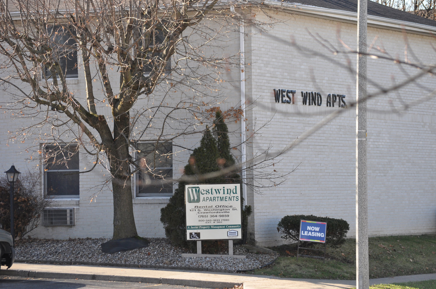 West Wind Apartments is one of four Montgomery County complexes to be rehabilitated as part of a state-led program to preserve housing for low and moderate-income residents.