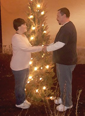 Randal L. Hutchison II and Trina B. Johnson plan to exchange wedding vows in October.