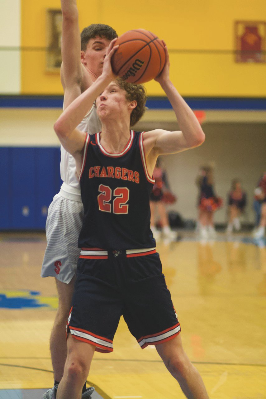 North Montgomery's Preston Shaw scored a career-high 26 points in the Chargers 66-54 win over Southmont on Saturday in the consolation game of the 14th Annual Sugar Creek Classic.
