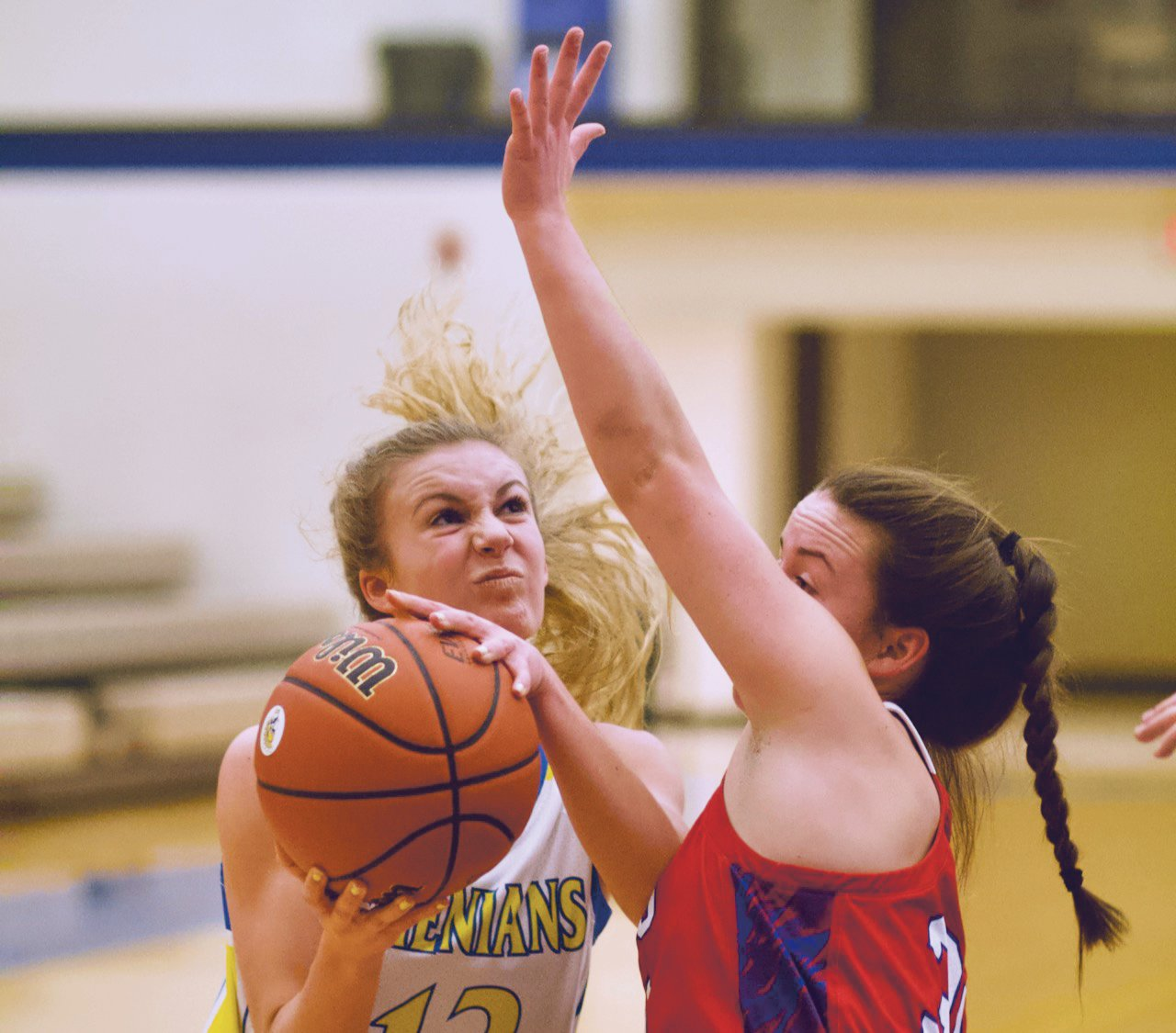 Crawfordsville's Lauren Kellerman scored 10 points in a Sagamore Conference loss to Western Boone on Tuesday.
