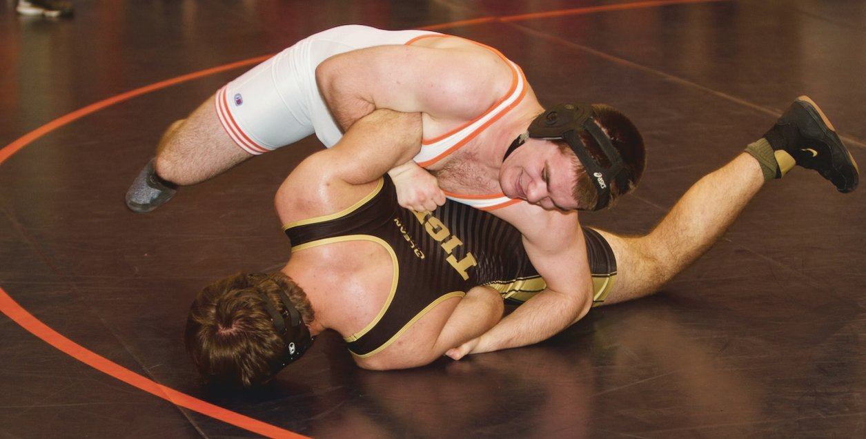North Montgomery's Dawson McCloud won the Sagamore Conference title at 182.