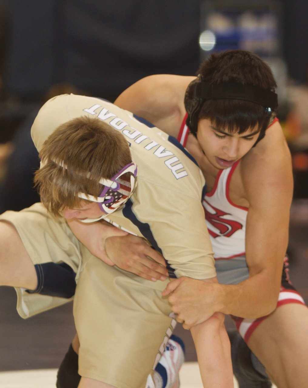 Southmont's Takeshi Greiner was the SAC runner-up at 145 pounds.
