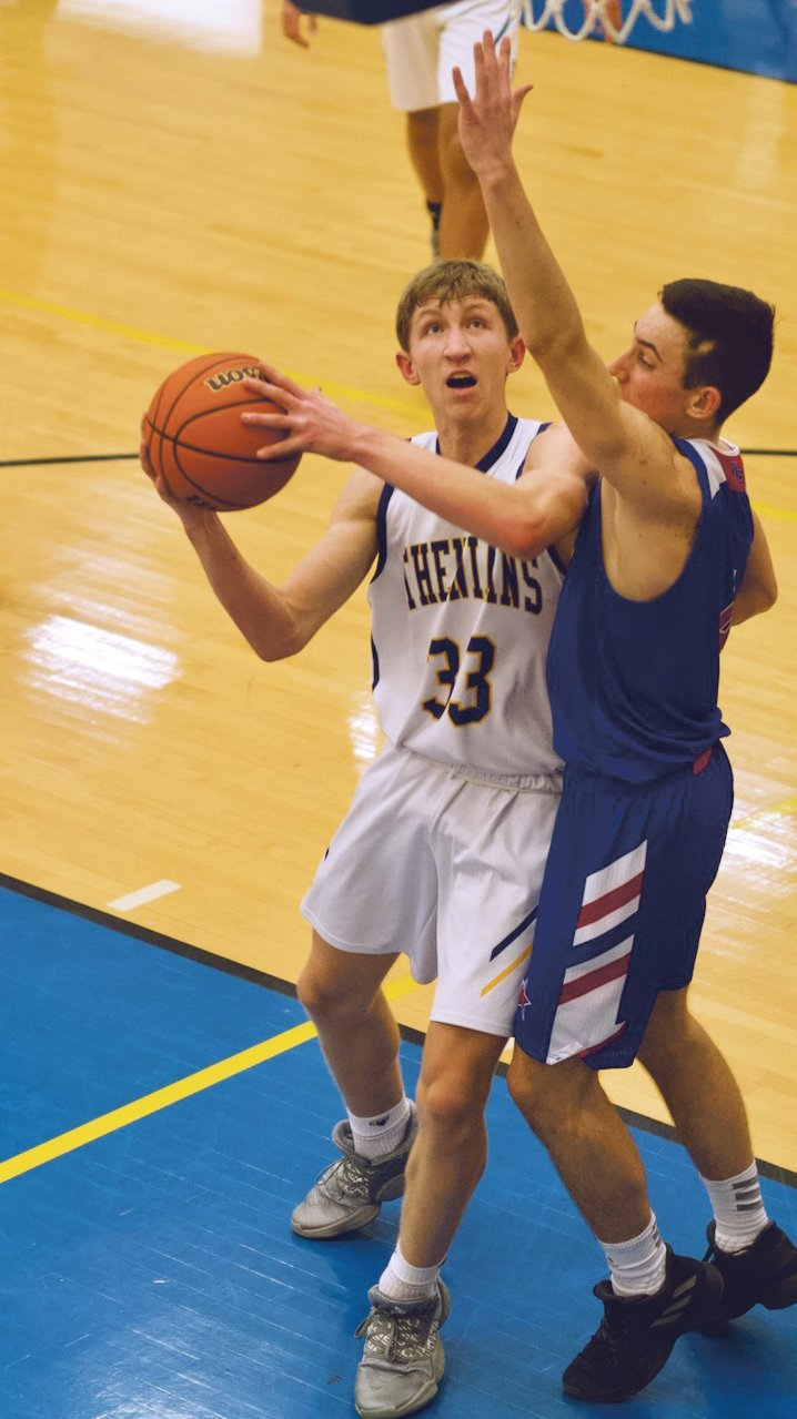 Crawfordsville's Ian Hensley had four points in the Athenian's 67-60 win over Western Boone on Tuesday.