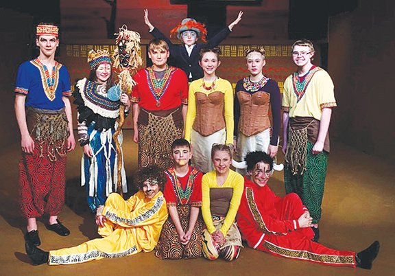 Lion King Jr Makes Its Way To The Vanity Theater Stage Journal Review