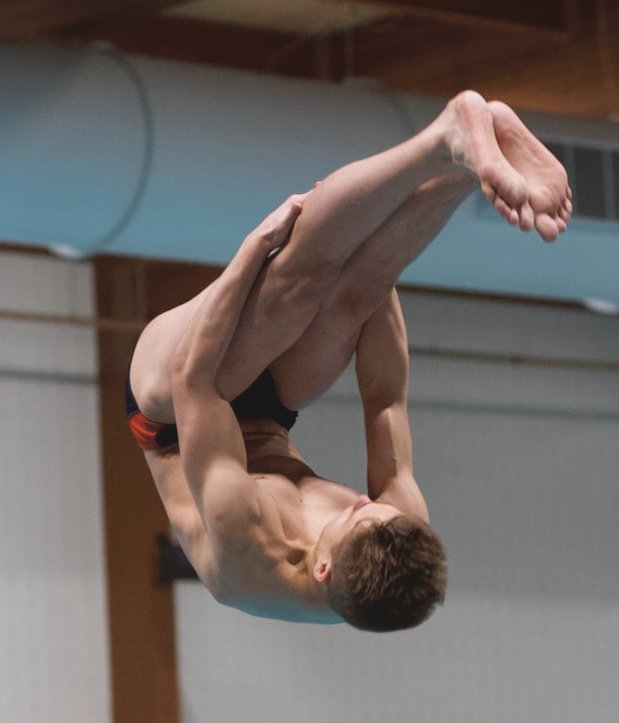 North Montgomery's Stevie Gunderman advanced to the diving regional with a fourth-place finish at the sectional.