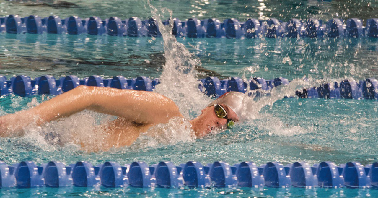 Southmont's John Zimmerman won the 500 freestyle.