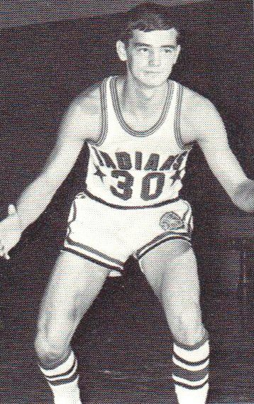 Darlington's Rich Douglas was one of the Indians' best players during his time near the end of the Darlington basketball days.