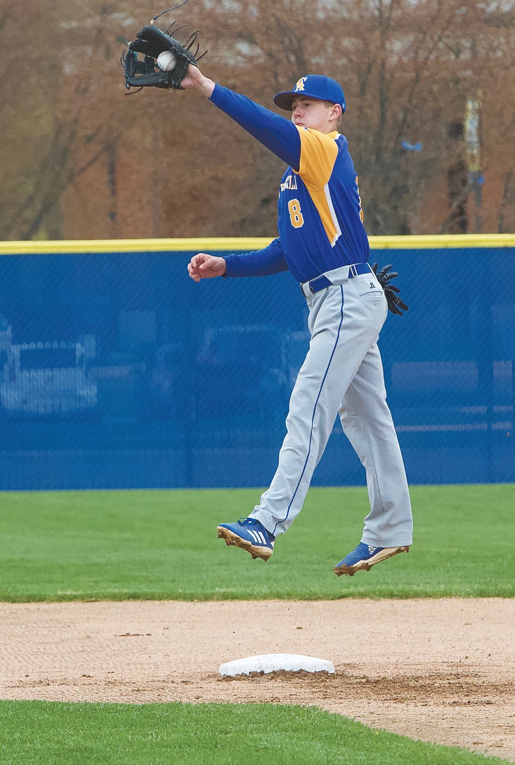 Crawfordsville's Cale McCarty is set to return for his senior baseball season this spring.