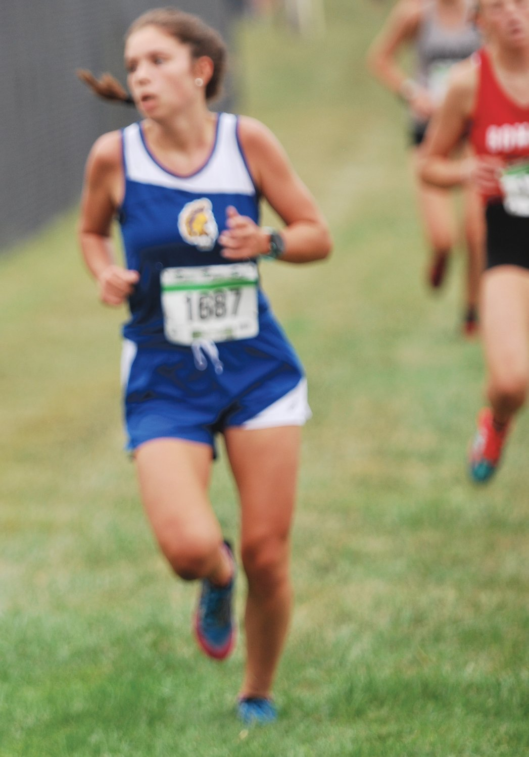 Crawfordsville's Shelby Greene led the Athenians with a 17th-place finish in 22:34.
