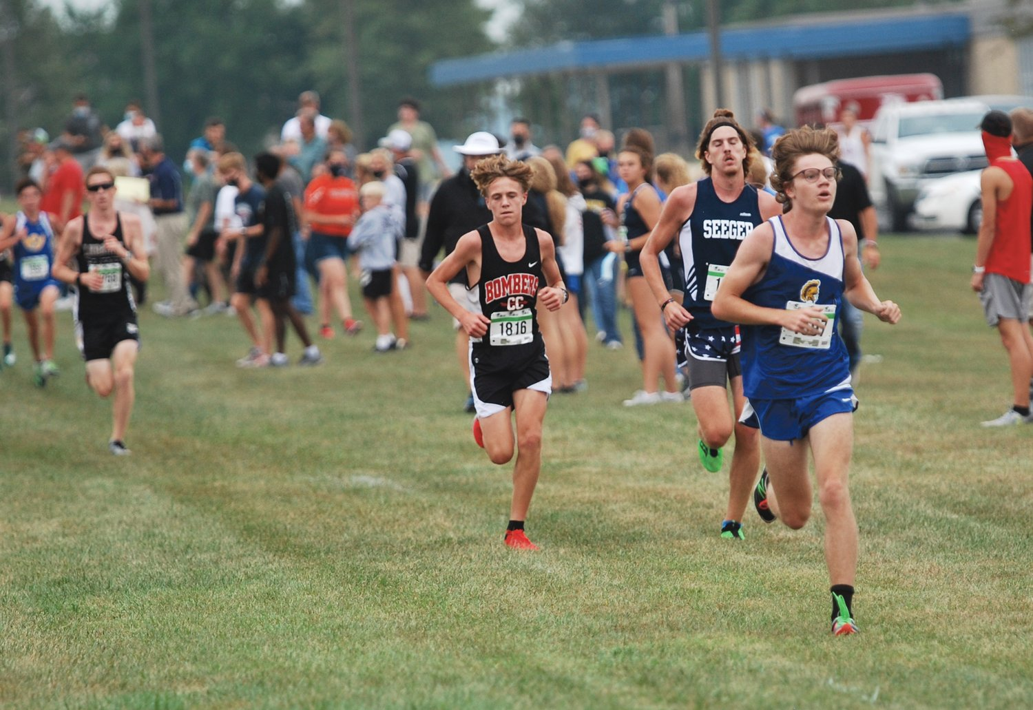 Crawfordsville's Hunter Hutchison led the field at the 50th Annual Charger Classic before settling for a second place finish.