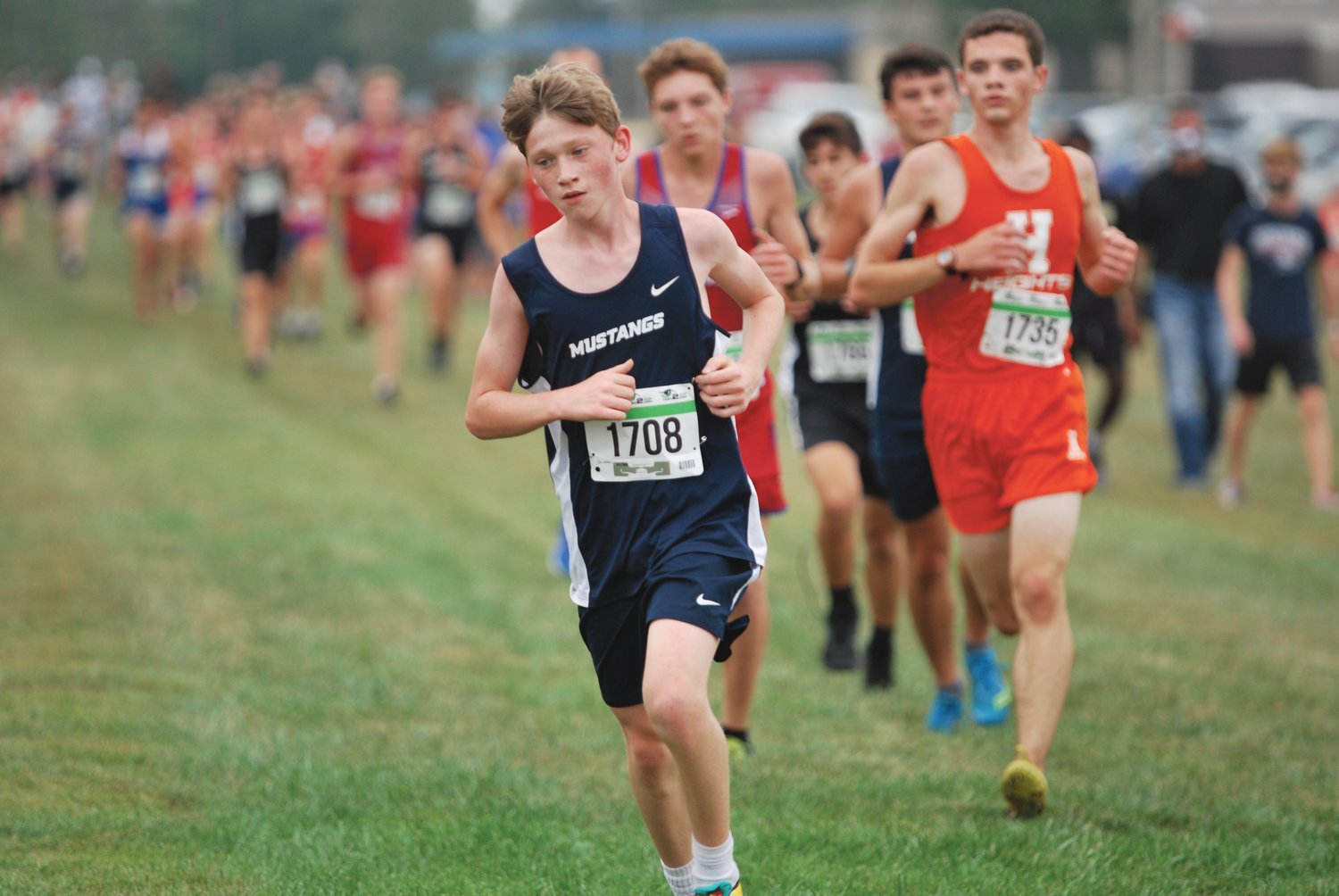Hayden Klerr placed 37th in a time of 19:58 for Fountain Central on Thursday at the Charger Classic.