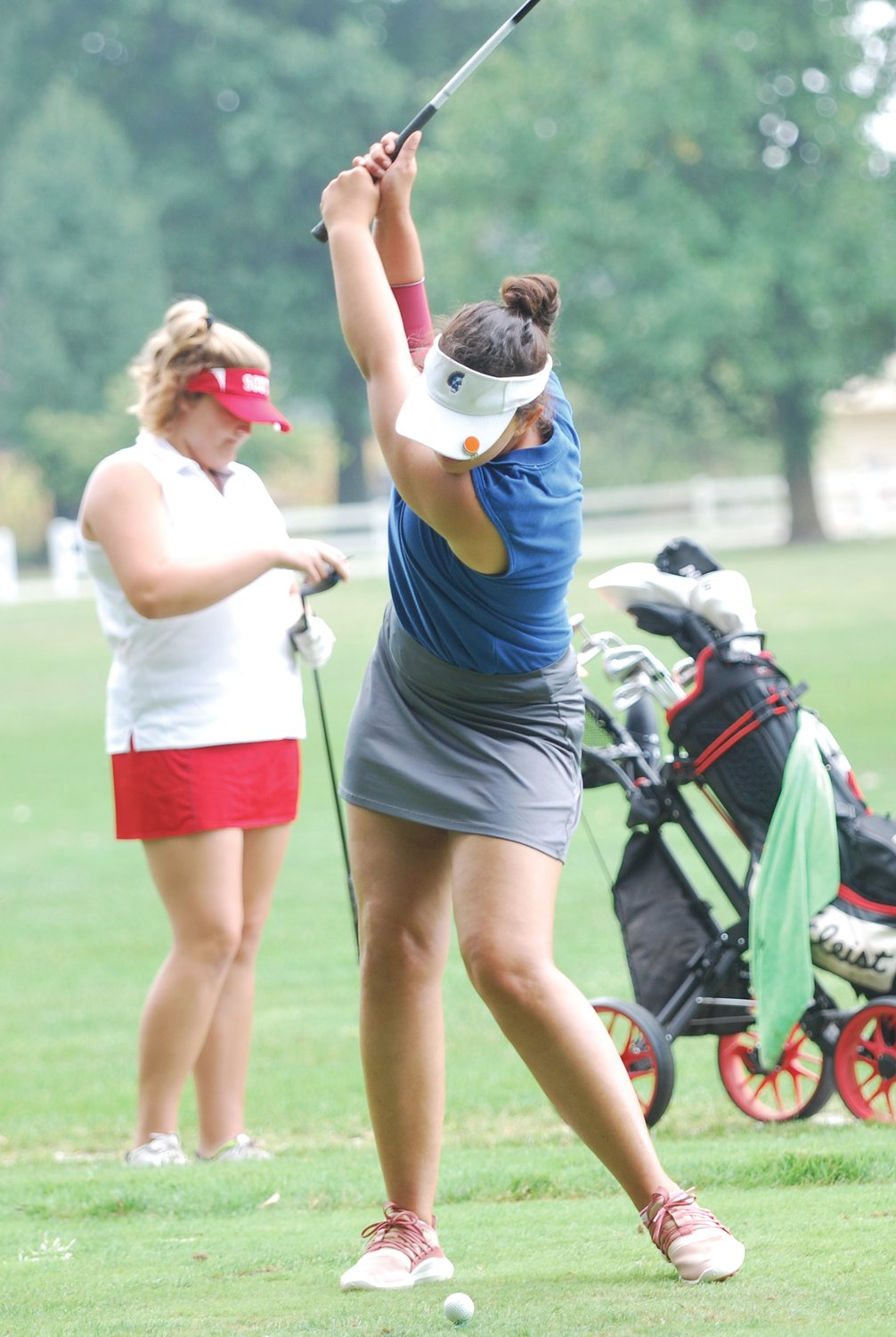 Crawfordsville's Bailey Mittal earned first-team all-conference honors with a round of 89 on Saturday the Crawfordsville Country Club.