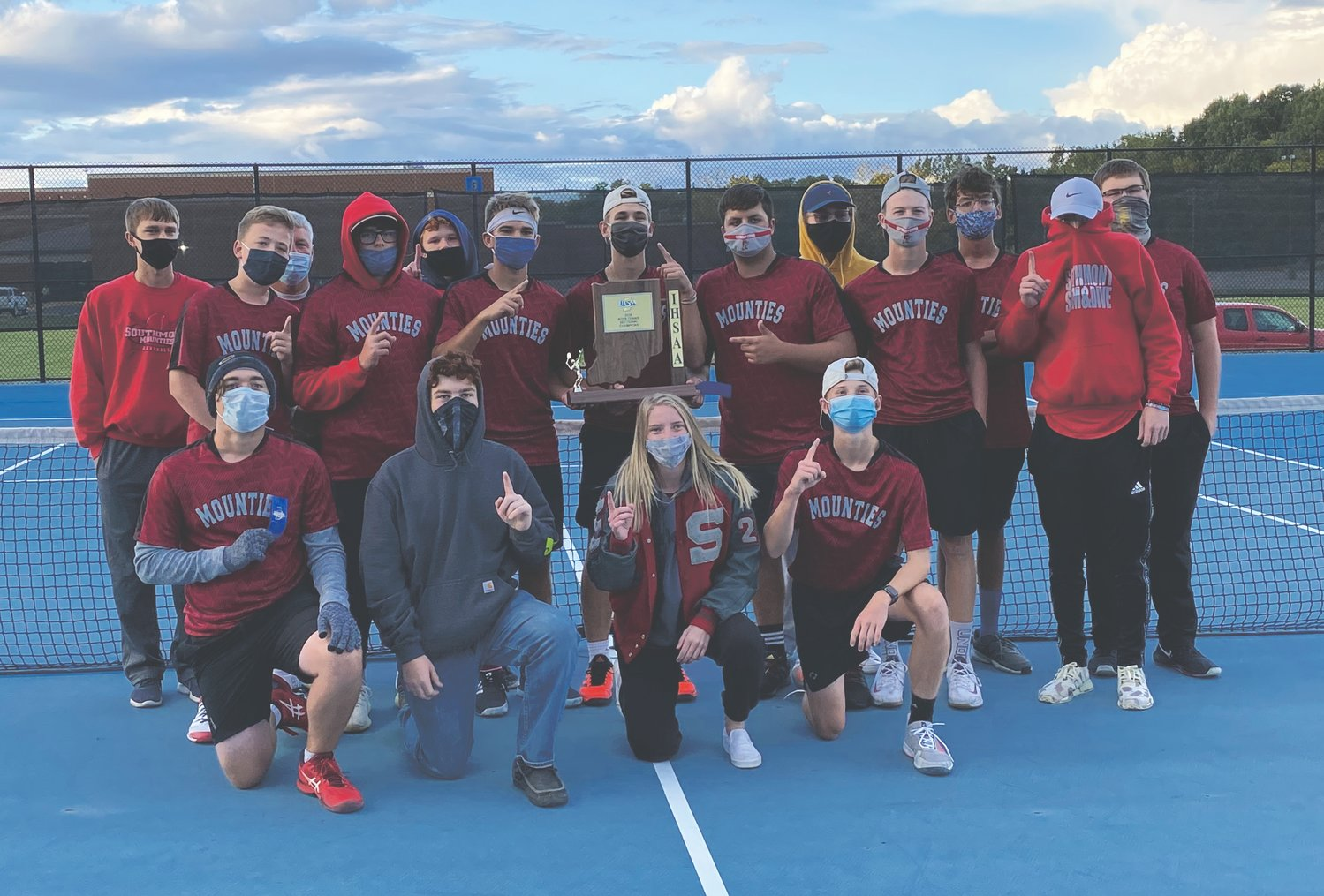 Southmont boys' tennis claimed its second straight sectional title with a 4-1 win over Crawfordsville on Thursday.