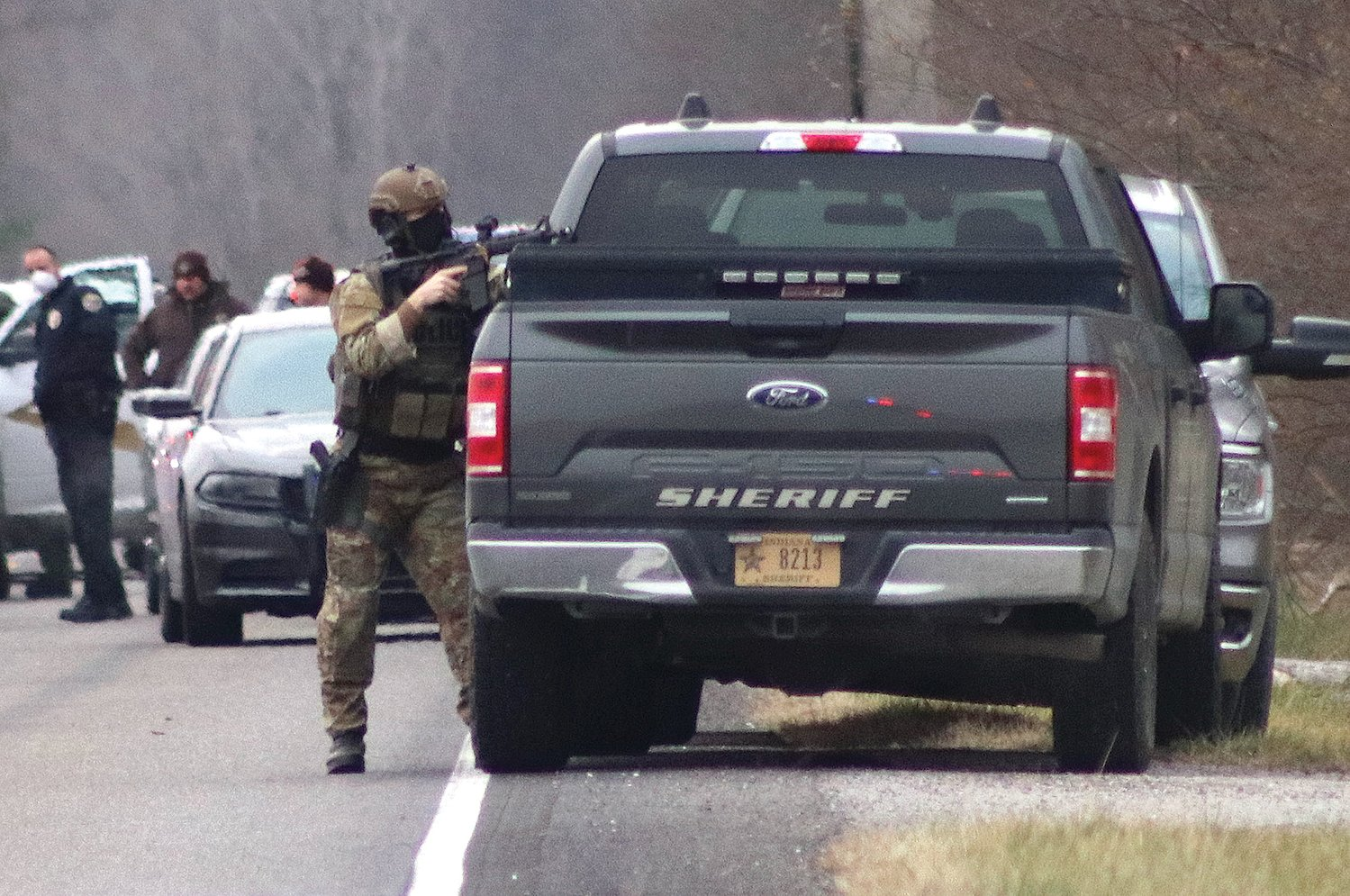 A Crawfordsville man engaged in a seven-hour standoff with police at his home in the 2100 block of North State Road 47 on Dec. 7. The event ended in a police-action shooting that wounded Dillon Gard, 30.