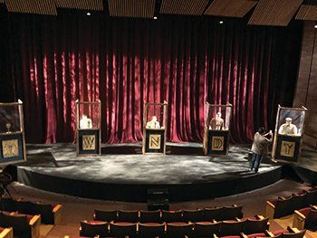 """Twisted Tales of Poe"" will broadcast live from Ball Theater on WNDY-FM (91.3) in Crawfordsville."