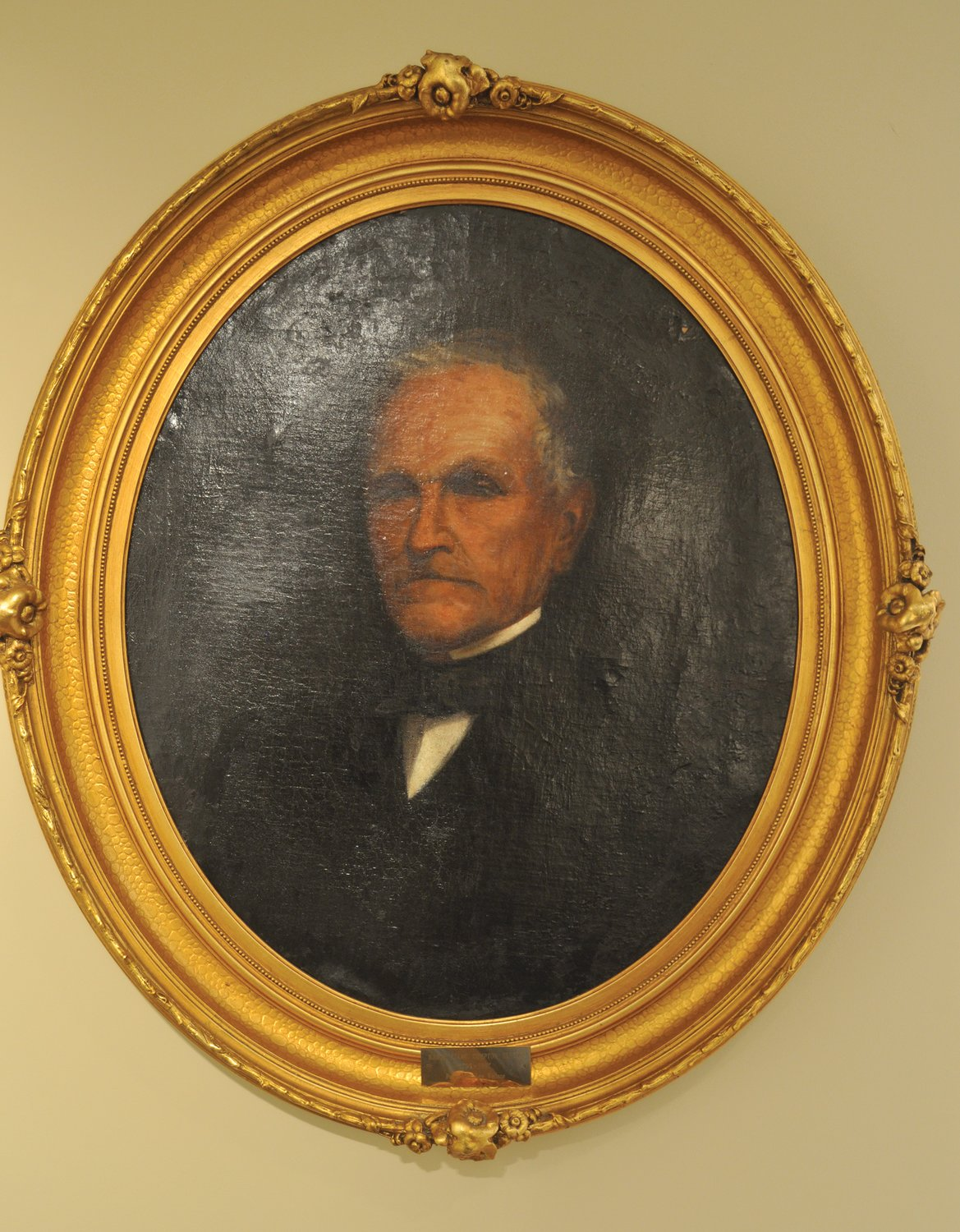 A portrait of Isaac C. Elston Sr., painted by son-in-law Lew Wallace, is believed to be the only painting Wallace signed. The portrait is featured in an upcoming exhibit on Wallace