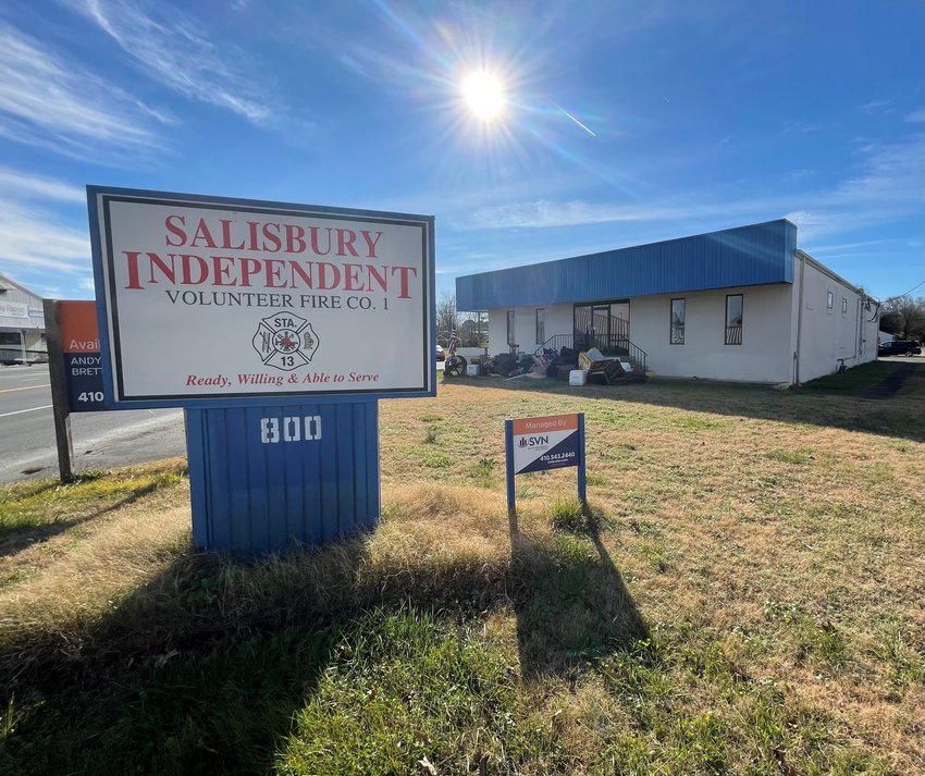 Independent Fire Company No. 1 was recently forced to vacate its Snow Hill Road facility.