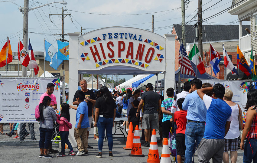 North Race Street in Georgetown, the staging venue for Festival Hispano celebrations in the past, is the proposed target area for Plaza Latina de Georgetown — a project geared toward community and economic revitalization in downtown Georgetown.