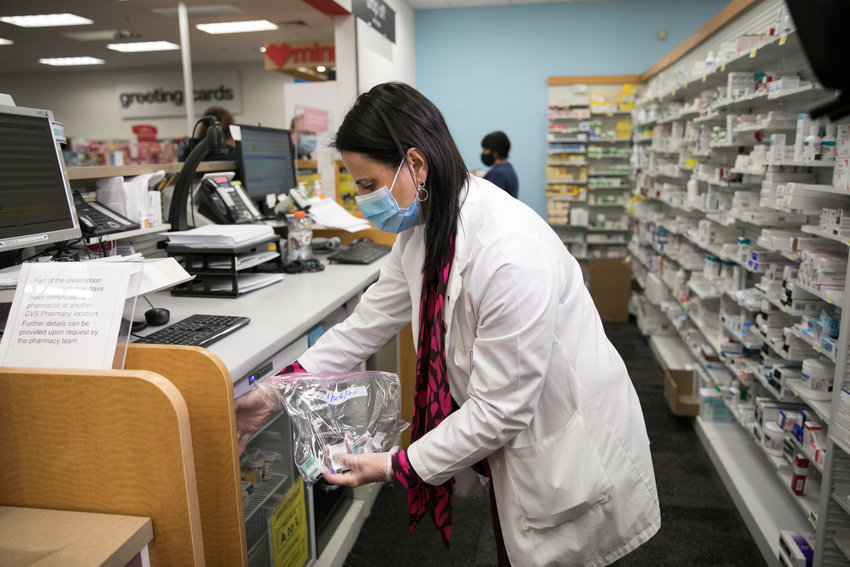 CVS Pharmacy begins administering COVID-19 Vaccines on Thursday, Jan. 28, 2021, in Fall River, Mass. The pharmacy will now administer vaccines in select Delaware locations in Kent and New Castle counties.