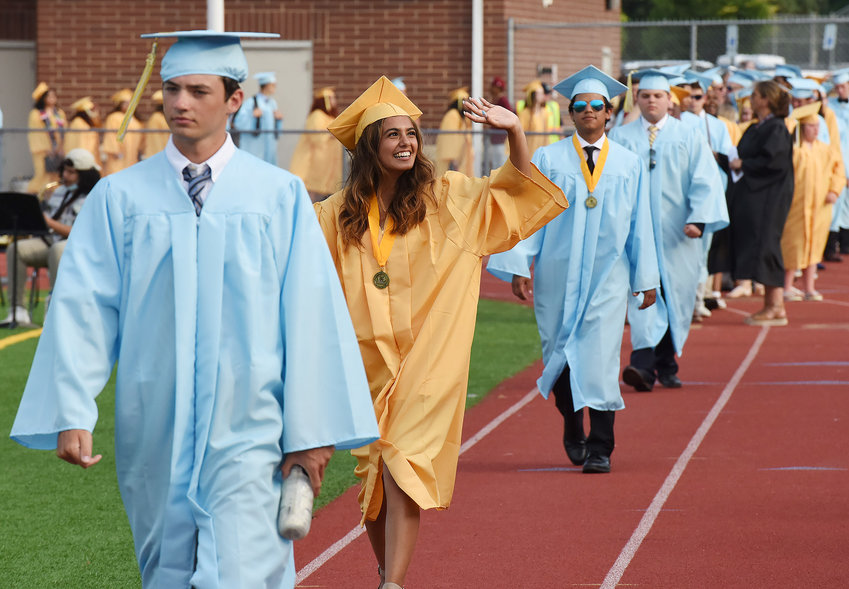 Cape Henlopen HS graduated 387 students on Tuesday, June 8.