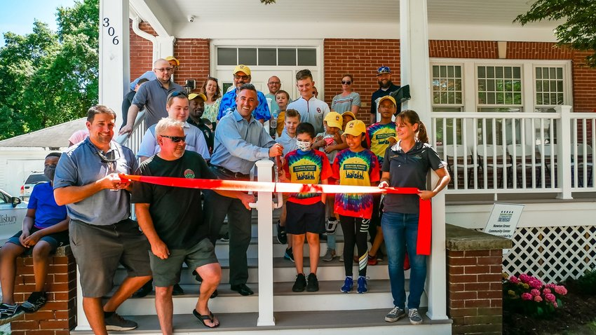 The Newton Street Community Center officially opened in Salisbury on Friday.