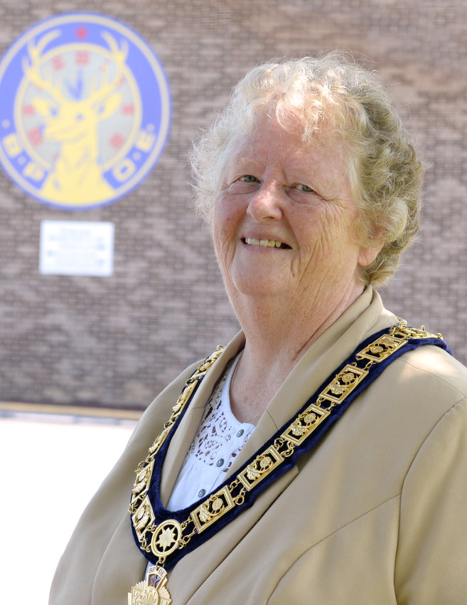 Bonnie Lee Howell will be monitoring activities in the 37 Elks Lodges of Maryland, Delaware and the District of Columbia as a new district deputy grand exalted ruler. She has been involved with the Elks for more than 40 years.