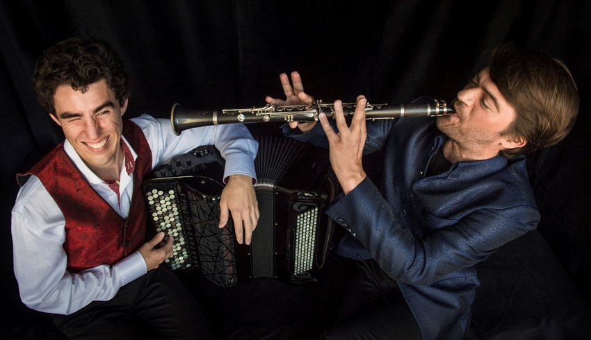 On Oct. 5, SCCA presents Bridge & Wolack, an accordion and clarinet duo who will bring a fusion of classical, jazz, and folk music.