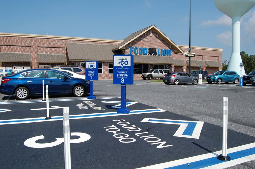 Food Lion in Crisfield joins other area stores by having started the Food Lion To Go grocery pick up service.