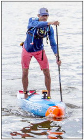 Chris Hopkinson, founder of Bay Paddle, last year became the first person to stand up and paddleboard the entire length of the Chesapeake Bay to benefit the Oyster Recovery Partnership. Last Friday, he and 90 team members started again, to again benefit the Oyster Recovery Partnership and this year, the Chesapeake Conservancy.