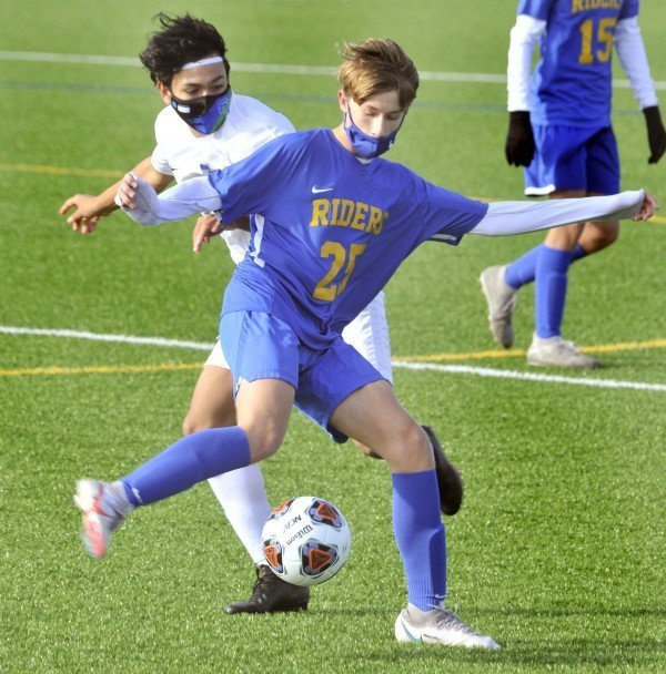 Junior co-captain Thaddeus Glasser is one of CR's returning players from a squad that finished 9-2-2 last fall.