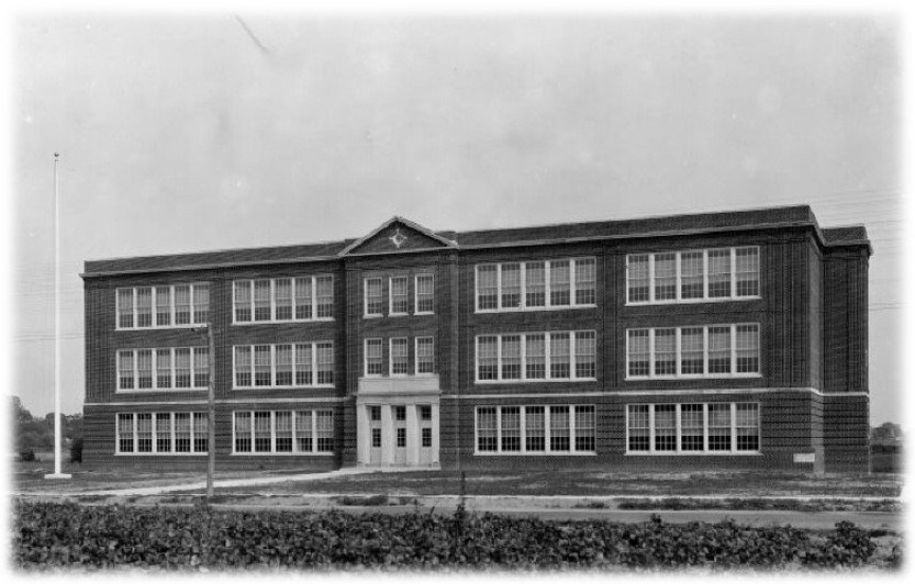 Pictured is Milford Middle School circa 1929, courtesy of Delaware Public Archives State Board of Education Collection. The Milford School District is holding a referendum on Oct. 27 that if approved by voters would mean the preservation and renovation of the middle school building for use by a new generation of students.