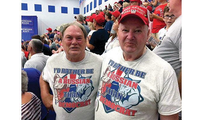 Ohio Republicans at a recent rally