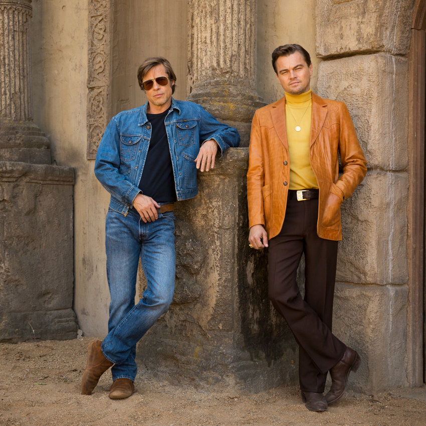 "Pitt and DiCaprio star in ""Once Upon a Time in Hollywood"""