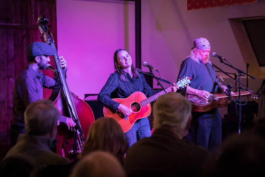 Stripping classic American music down to the essentials and making it their own, the HEATHER PIERSON ACOUSTIC TRIO strums through the songbook, fusing New Orleans jazz, blues, folk, Americana and pop. 7:30 p.m. Friday, March 6, Mudville Music Room, Arlington, raylewispresents.com, $15.
