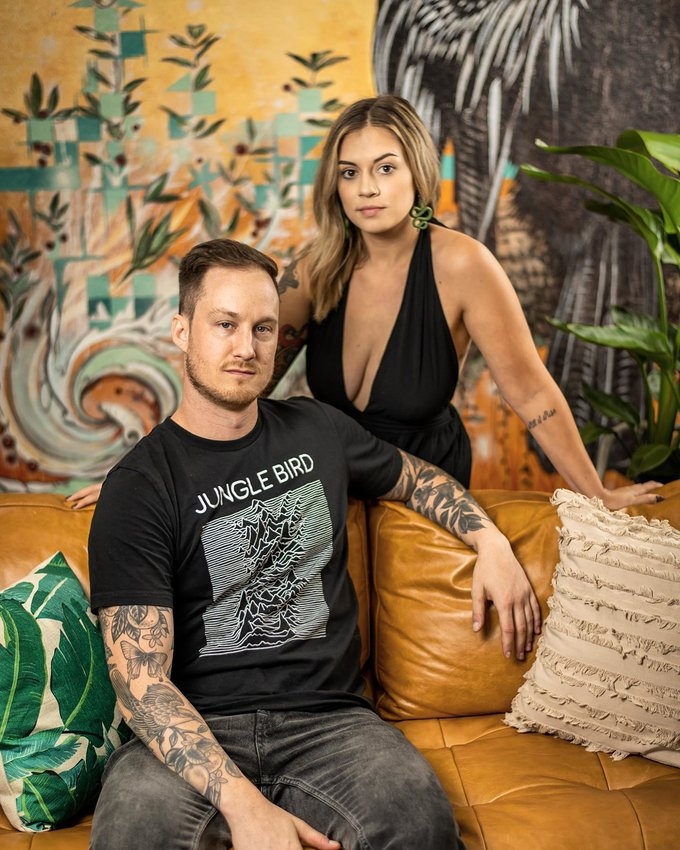 Nick Hogan and Shanon Michelle of Mover and Shaker