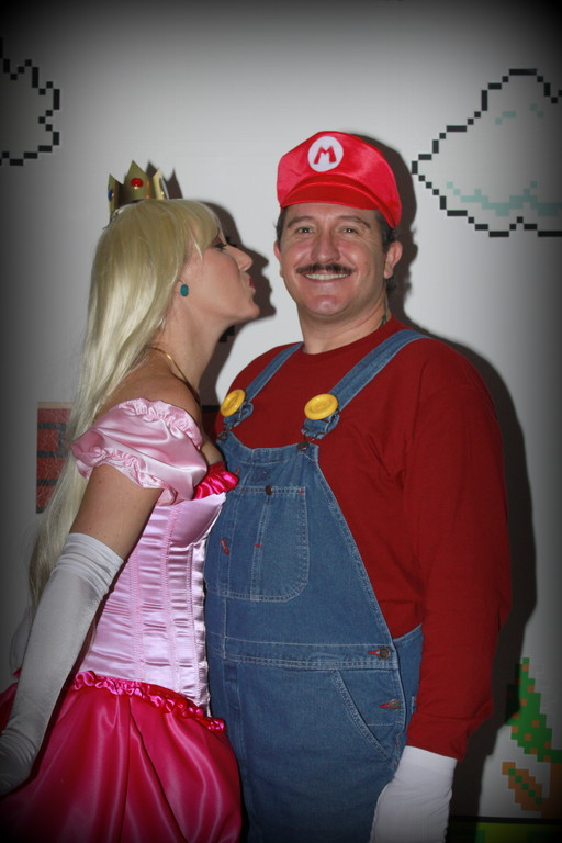 Joy Bell & Tedd Ohrt (Princess Peach & Mario)