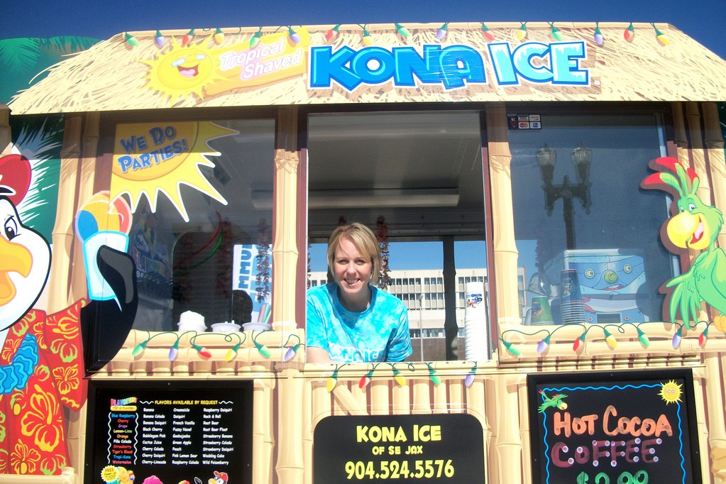 Nichole Lima of Kona Ice