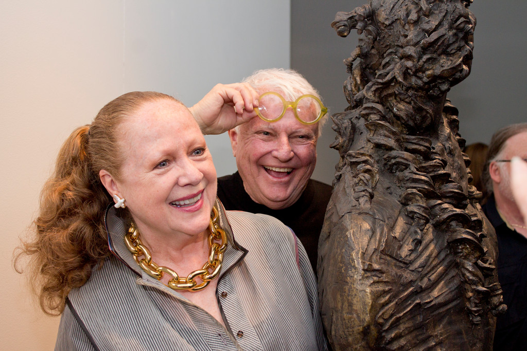 Gabrielle and Bruce Dempsey, J. Johnson Gallery director